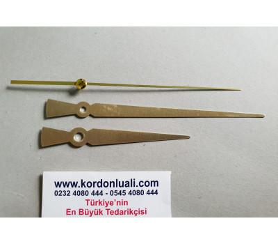 Akrep 10 cm Yelkovan 15 cm Metal Gold 100 Adet
