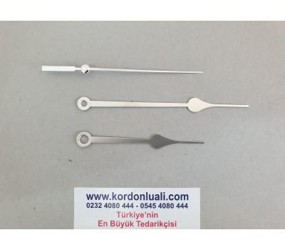 Akrep 8,5 cm Yelkovan 11,5 cm Metal Gümüş