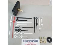 Saat Makinesi Askısız Akar Şaftı 28 mm Plastik Akrep Yelkovan