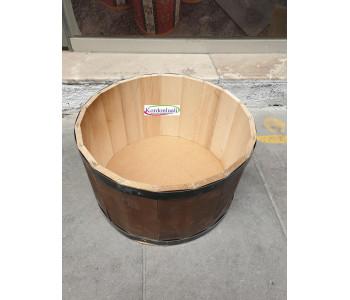 Turşu Turşu Kuruyemiş Teşhir Kovası Çapı 40 cm Kapaklı